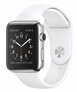 Apple Watch weiss