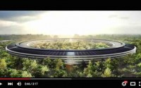 Apple Campus 2 im Youtube-Player